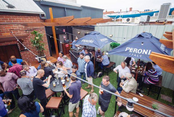 Beer Garden now open! Temperance Hotel