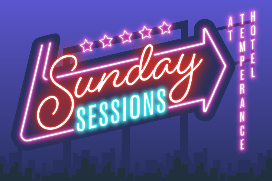 Sunday Sessions at Temperance Hotel - Join us at Temperance for our Sunday Session, and recover from the night before with some laid back tunes from Luke Joseph Live at 3pm followed by Jack & Jordan at 6pm. From 8pm we'll have $8 selected drinks on special, and later, DJ Sofo will be on the decks from 9pm to see out the rest of your Sunday.